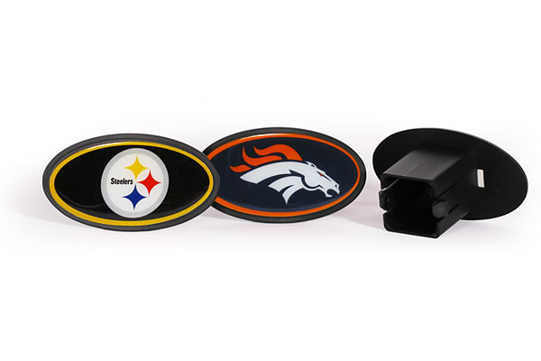 siskiyou sports nfl plastic hitch covers collage