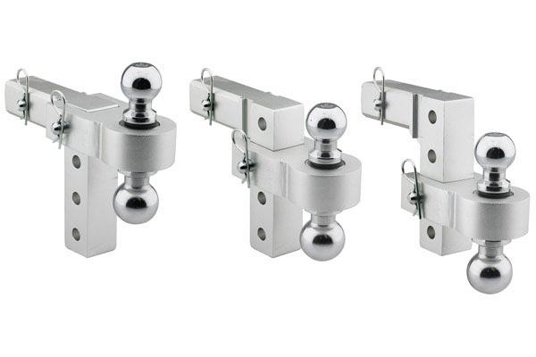 smittybilt aluminum adjustable hitch drop ball mounts adjustable