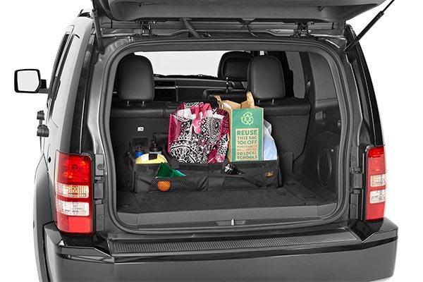 bestop roughrider soft storage cargo trunk organizer loaded suv