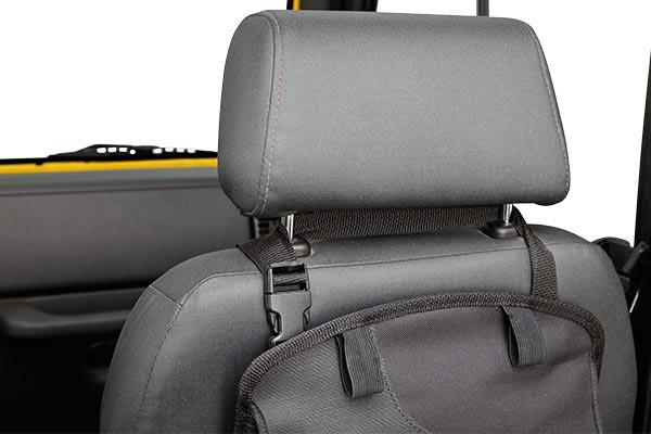 bestop roughrider soft storage seat back organizer top clip