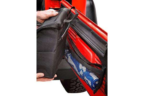 bestop roughrider soft storage tailgate organizer bag