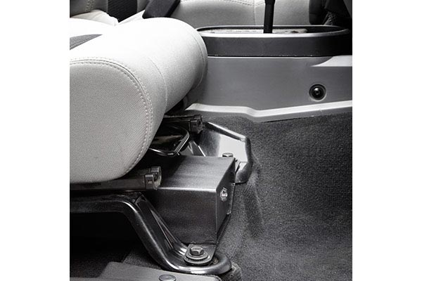 bestop under seat locking storage box passenger profile