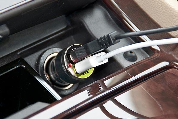 bracketron dual usb charger