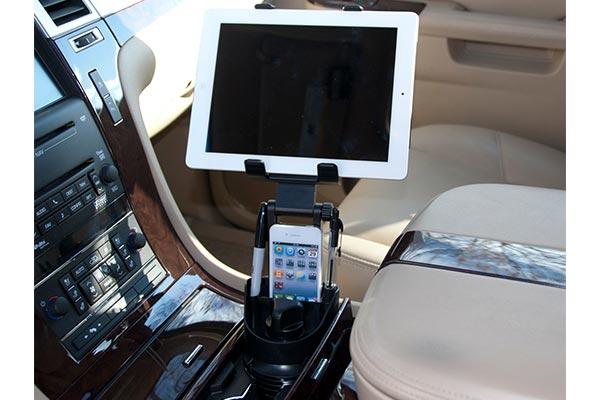 bracketron universal tablet cup holder mount bracketron universal tablet 1 - Tablet Mount