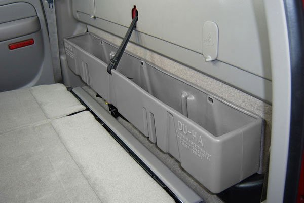 F150 Under Seat Storage >> Du-Ha Underseat Storage, Du Ha Truck Storage Cases, DuHa Underseat Gun Storage Cases for Trucks