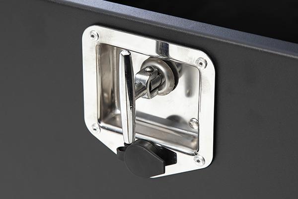 smittybilt security storage vault handle lock