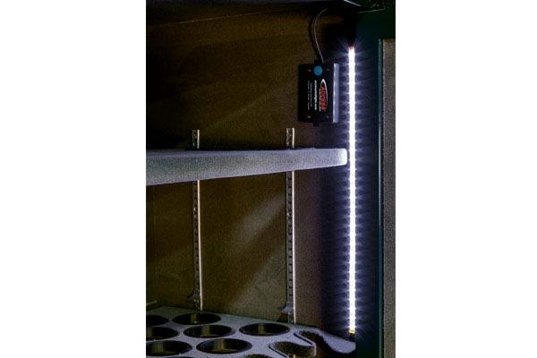 access smart led light gun safe