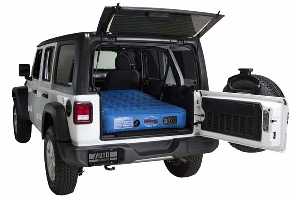 AirBedz XUV Mattress Fitted in Jeep
