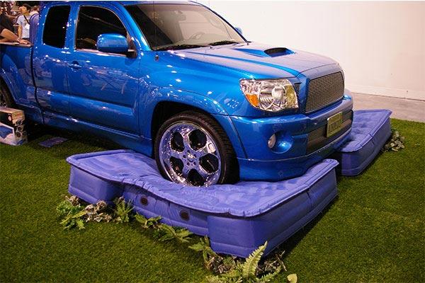 airbedz air mattress truck on AirBedz