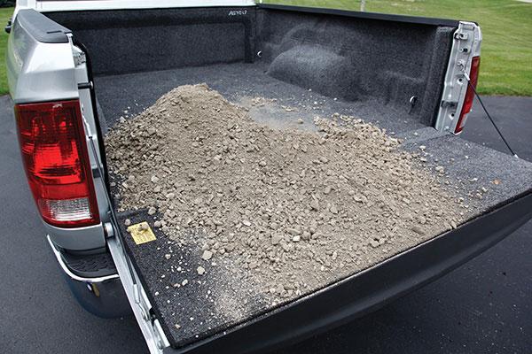 bedrug truck bed liner gravel 2
