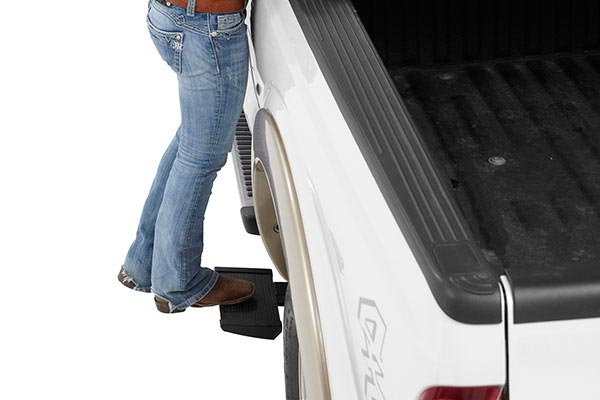 bestop trekstep retractable side mount truck bed step 6