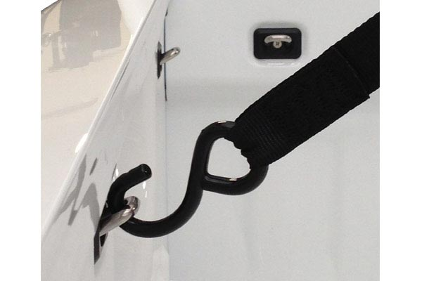 bull ring bullet retractable anchor points in use