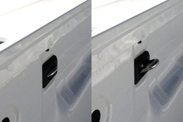 bull ring bullet retractable anchor points retracted up