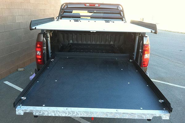 cargoglide 1500 series steel truck bed slide 5