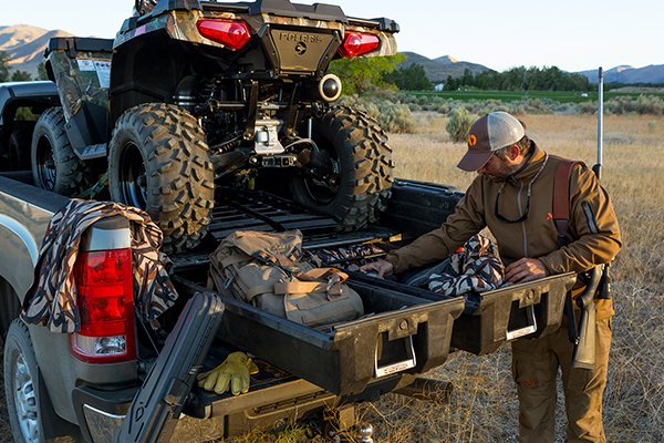 decked truck bed storage atv hunting lifestyle