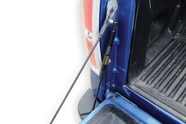 dee zee tailgate assist installed