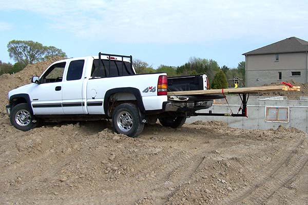 truck bed extender erickson big bed hitch bed extender fixed or folding 28706