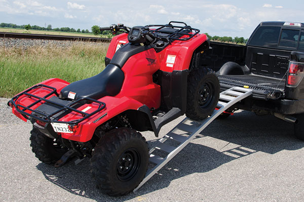 erickson arched loading ramp atv