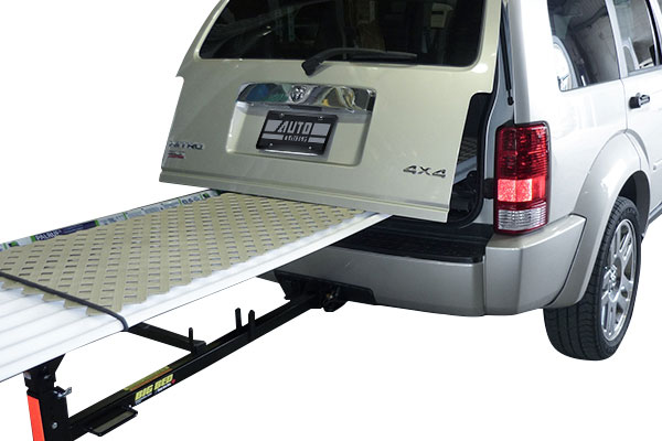 erickson big bed hitch bed extender installed
