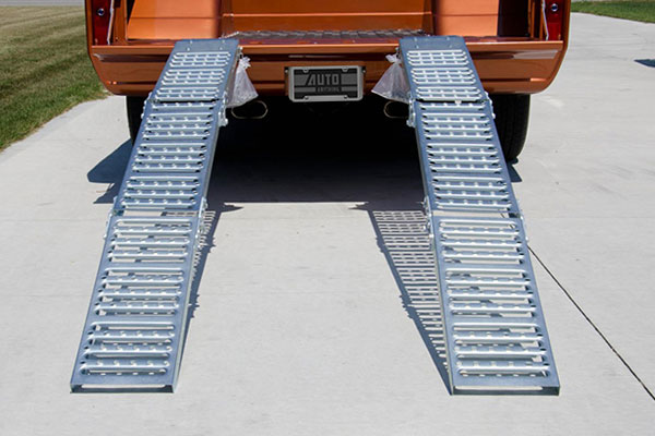 erickson tri fold loading ramp installed