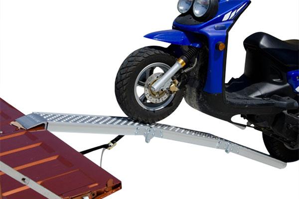 erickson tri fold loading ramp installed 3