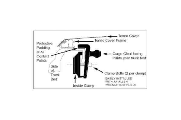extang cleat diagram