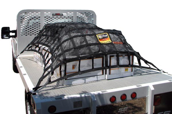 gladiator cargo net flat bed
