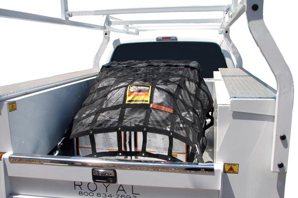 gladiator cargo net utility truck