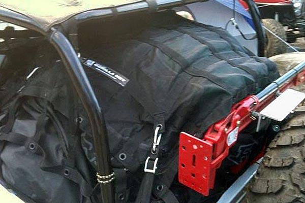 gladiator rubicon interior cargo net installed jeep