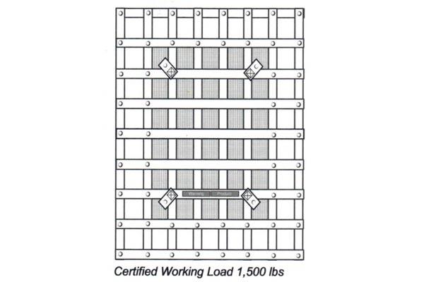 gladiator rubicon interior cargo net schematic