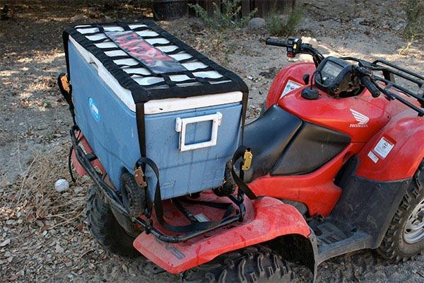 moto gate mini cargo net atv