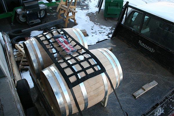 moto gate original tailgate net barrels