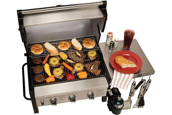 party king grills swing n smoke tailgate grills mvp 7000 grill head