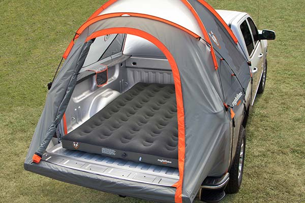 rightline gear truck bed air mattress with tent