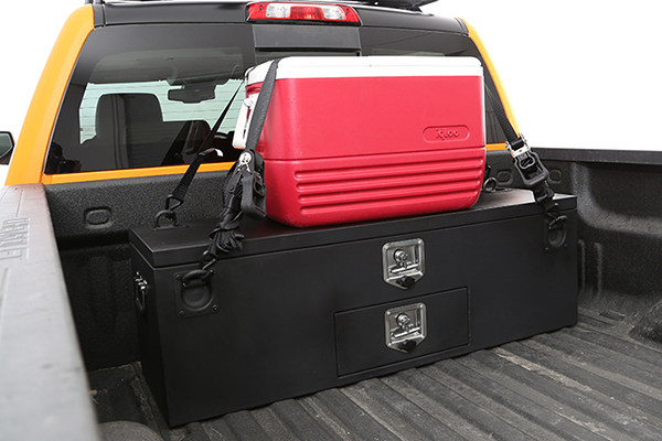 smittybilt adventure box installed cooler
