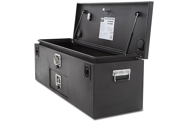 smittybilt adventure box lid open
