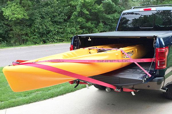 snap loc e track system kayak