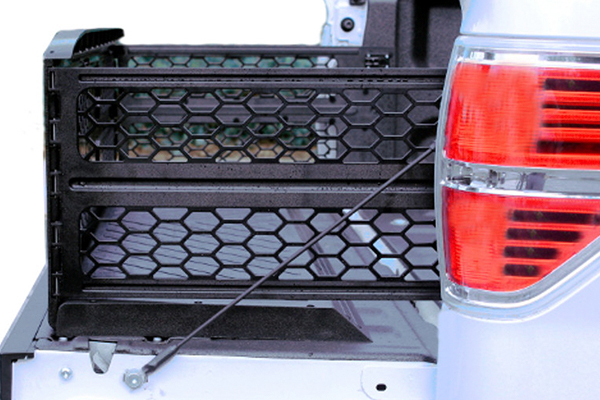 x treme gate slide out truck bed extender size view
