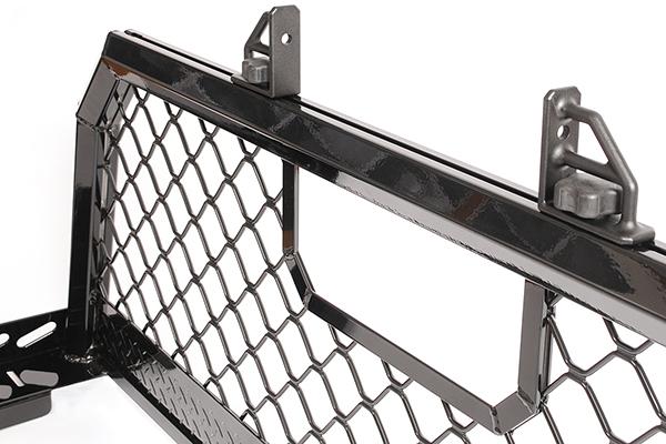 dee zee cab rack mesh detail