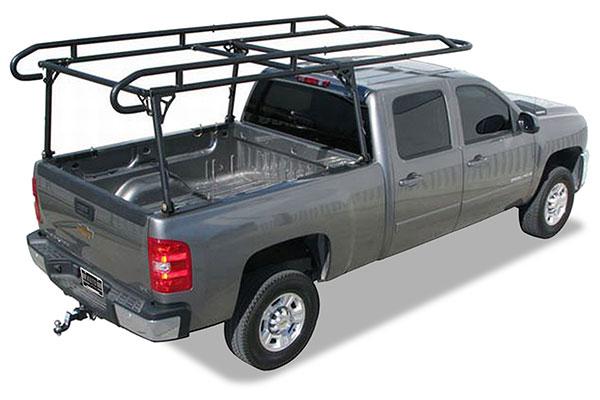 proz truck rack silverado installed