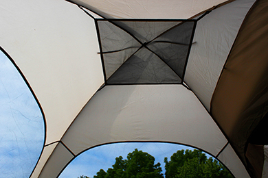 BackRoadz SUV Tent Inside Canopy View