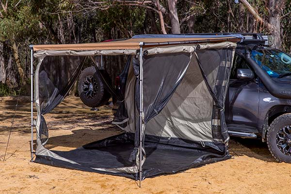ARB Awning Rooms Arb Deluxe Room Open