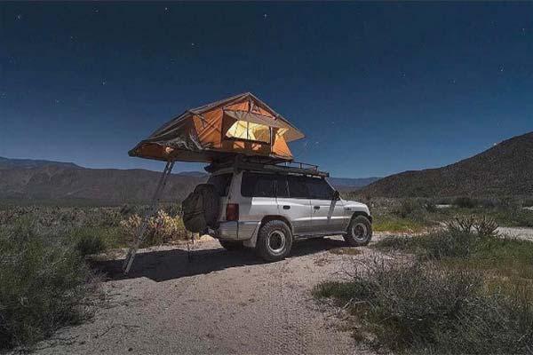 Camp where you park