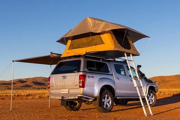 arb kakadu rooftop tent lifestyle