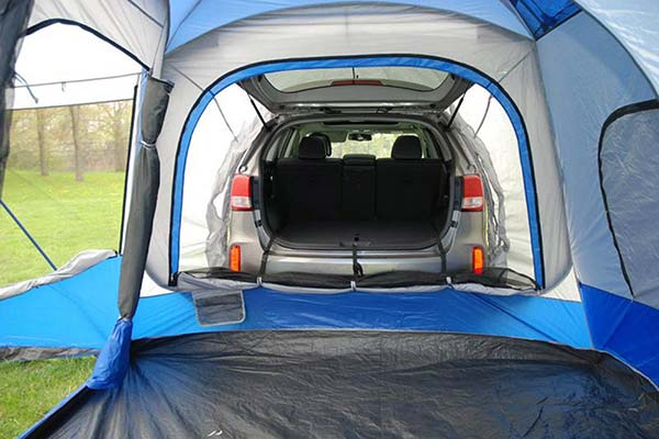 Napier Sportz Universal Tents; The Napier Sportz Tent allows the conversion of your SUV truck or minivan into a cozy place to rest your head ... & Napier Sportz Universal Tents - FREE SHIPPING