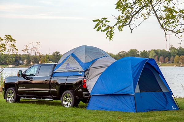 napier sportz link truck tent extension lifestyle