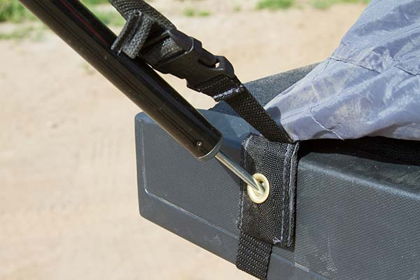 proz deluxe truck tent awning support pole base 5