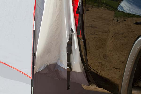 proz deluxe truck tent extension connection joint 5
