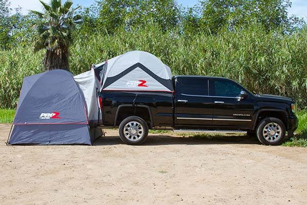 Pick Up Truck Tent Campers >> ProZ Deluxe Truck Tent Extension