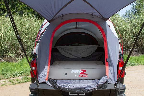 proz deluxe truck tent open 3